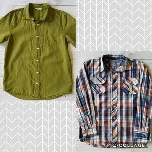 Big Boys X Large Button Down Shirt Bundle